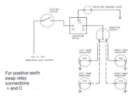 indicator wiring diagram relay wiring a 3 pin indicator relay alastairgrundy