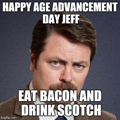 Happiness Is Meme Generator - ron swanson happy birthday meme generator imgflip cool misc things pinterest happy