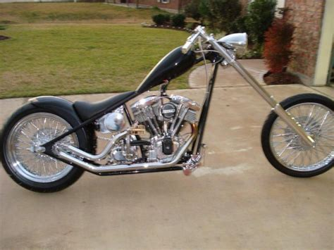 1971 Harley Davidson Fx Shovelhead Chopper For Sale On