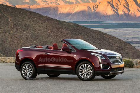 Cadillac Xt5 Convertible Rendered