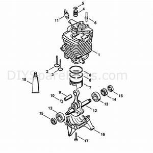 Stihl Br 600 Backpack Blower  Br 600  Parts Diagram  Cylinder