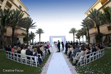 andria and ben s wedding ritz carlton palm
