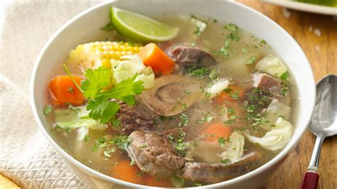 Mexican Beef Soup Recipe