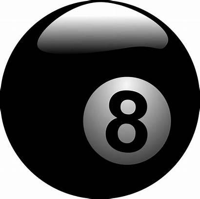 Ball Transparent Pool Billiard Billiards Eight Balls