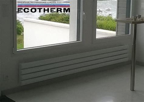 radiateur plinthe 233 lectrique 224 inertie radiateur ecotherm