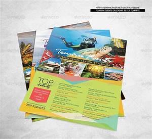 Tourism Events Calendar Flyer Template