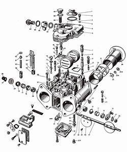 Weber 45 Dcoe Carburetor  19600 060