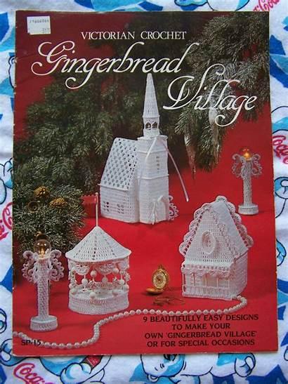 Crochet Victorian Gingerbread Village Patterns Pattern Houses