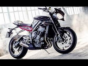 Street Triple 2017 : 2017 new triumph street triple 765r first photos youtube ~ Maxctalentgroup.com Avis de Voitures