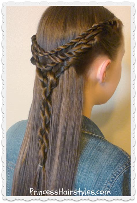 tangled twists tie  hairstyle hairstyles  girls
