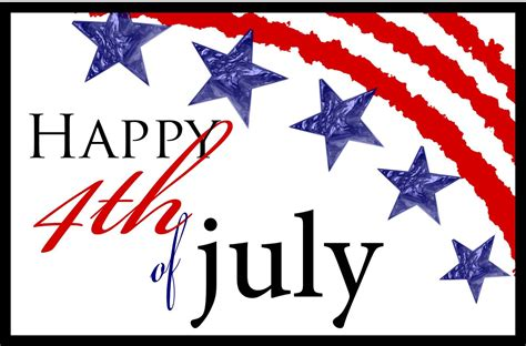I hope wherever you live, you have a safe and happy 4th of ...