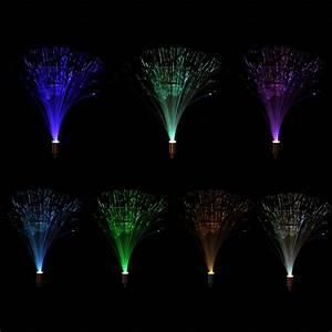 Lumiere Fibre Optique : 2pcs ext rieur nouveaut creative solaire fibre optique ~ Premium-room.com Idées de Décoration