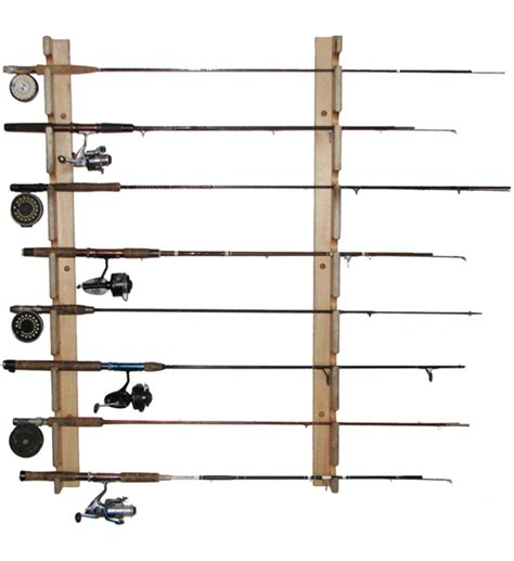 fishing pole storage rack horizontal fishing rod storage rack in sports equipment