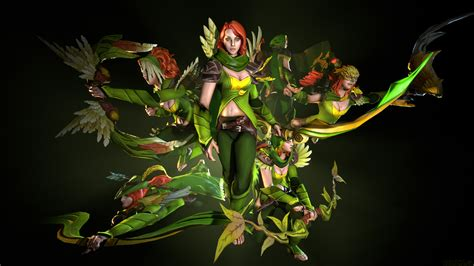 Defense Of The Ancients Wallpapers Windrunner Sets 3d Art Dota 2 Wallpapers