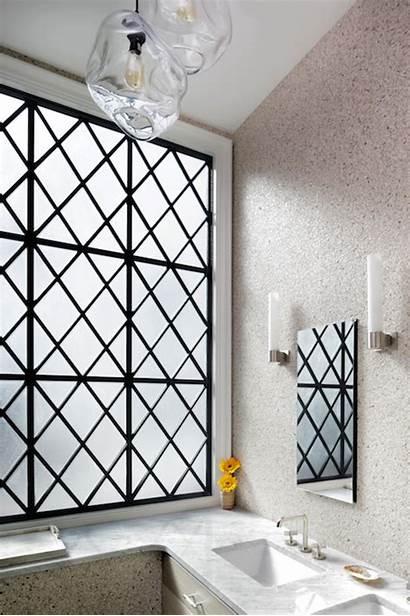 Bathroom Window Frosted Glass Windows Leaded Metal