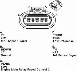 Ford Mas Air Flow Sensor Wiring Diagram