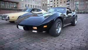 Corvette C3 Stingray : 1976 corvette stingray c3 resto mod startup and v8 sound youtube ~ Medecine-chirurgie-esthetiques.com Avis de Voitures