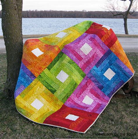 rail fence quilt rainbow rail fence quilt tutorial favequilts