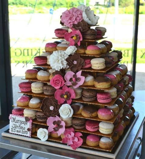 pi 232 ce mont 233 e macarons et choux mariage wedding vin d