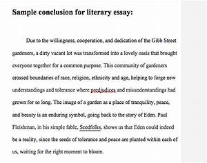 Compare And Contrast Essay On High School And College Writing Tips For Essay Conclusions English Essays Examples also Argumentative Essay Sample High School Writing Essay Conclusions Essay To Buy Sample Essay Conclusions Help  Personal Essay Examples High School