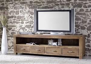 Tv Bank Massivholz : tv lowboard akazie stone akazie lowboard stone tv hifi bildergalerie ~ Whattoseeinmadrid.com Haus und Dekorationen