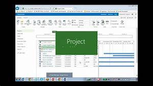 Training On Microsoft Project Professional 2013 For