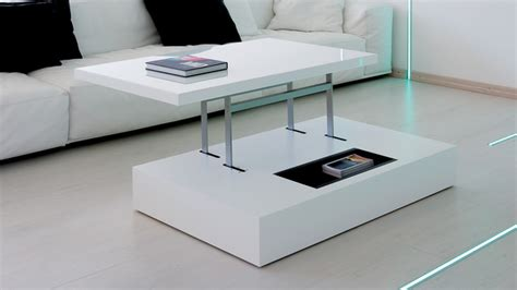 Table Basse Transformable Et Relevable