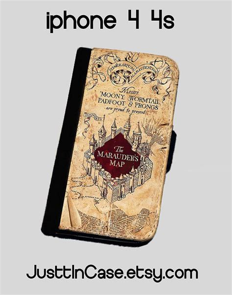 harry potter iphone 5 harry potter inspired the marauders map iphone 4 4s iphone 5