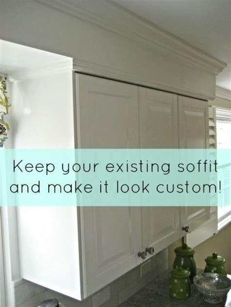 kitchen cabinet crown molding to 25 best ideas about soffit ideas on kitchen