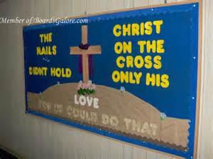 Christian Easter Bulletin Board Ideas for Schools