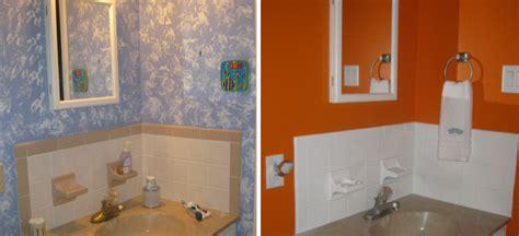 peinture carrelage salle de bain id 233 es de motifs et couleurs