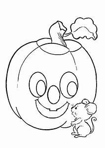Dessin Facile Halloween : coloriage halloween citrouille 2 sur ~ Melissatoandfro.com Idées de Décoration