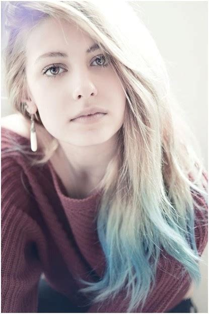 Long Straight Ombre Hairstyle 2014 Pretty Designs