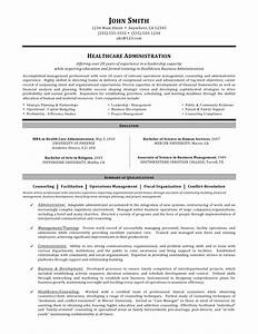 healthcare administration resume by mia c coleman With healthcare management resume examples