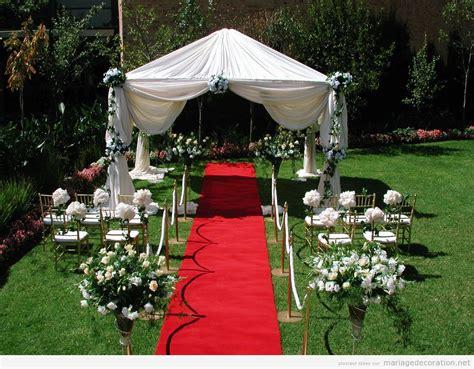 decoration jardin pour mariage le mariage