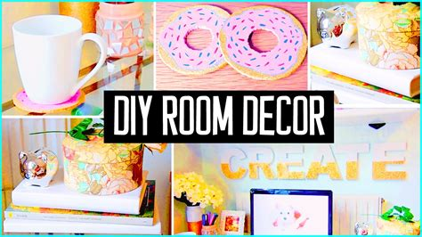 diy room decor desk decorations cheap cute projects