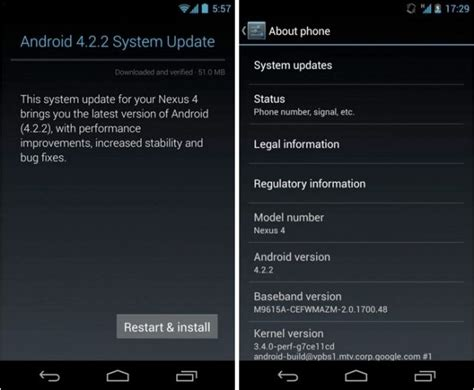system update android cult of android manually install s android