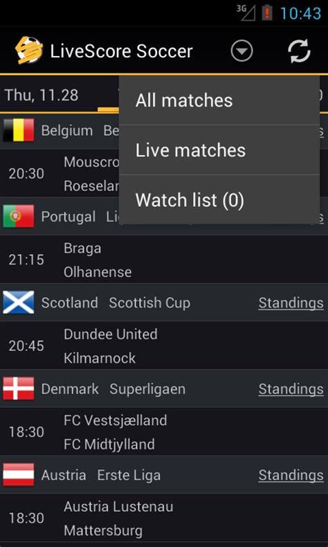 livescore soccer android apps  google play