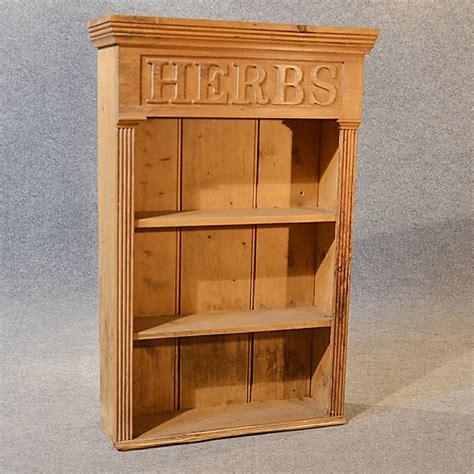 pine kitchen wall cabinets antique bookcase pine kitchen herb cabinet book 4227