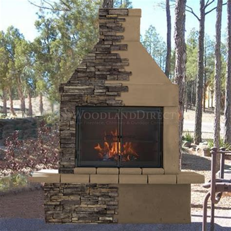 mirage outdoor wood burning fireplace w bbq