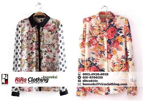 konveksi baju fashion   surabaya riraclothing