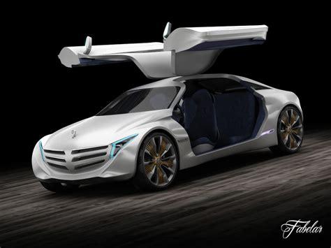 Mercedes F125 Concept 3d Model Rigged Max Obj Fbx C4d