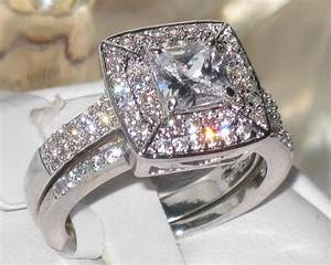 tk1088pb steel engagement ring simulated diamond wedding With simulated diamond wedding ring sets