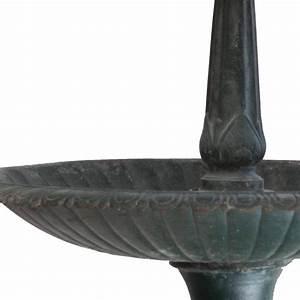 Vintage Green Cast Iron Three-Tier Heron Reclaimed ...