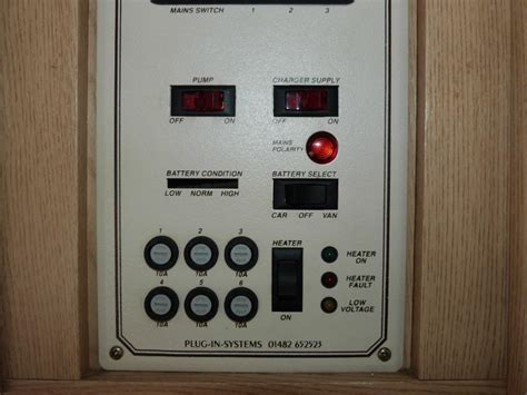 caravan power management system pmscrv power supply