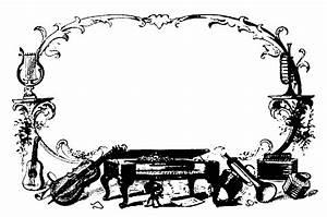 Christmas Music Notes Border Clip Art | Clipart Panda ...