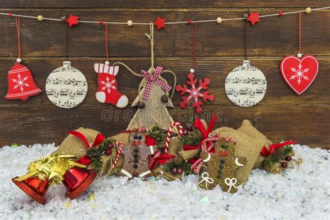 Shabby Chic Rustic Christmas Decorations Stock Image Designs For Kitchen Cupboards Mini Bar Design Lights Floor Plan Your Own Layout U Shaped Photos Colour Australian Kitchens