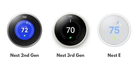 2nd Nest Wiring Diagram by Nest Thermostat Reviews Nest 2nd Generation Vs Nest 3rd