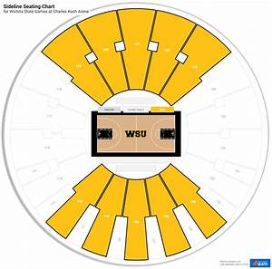 Charles Koch Arena Seating For Wichita State Basketball