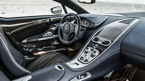 Interior Of The Aston Martin One-77.